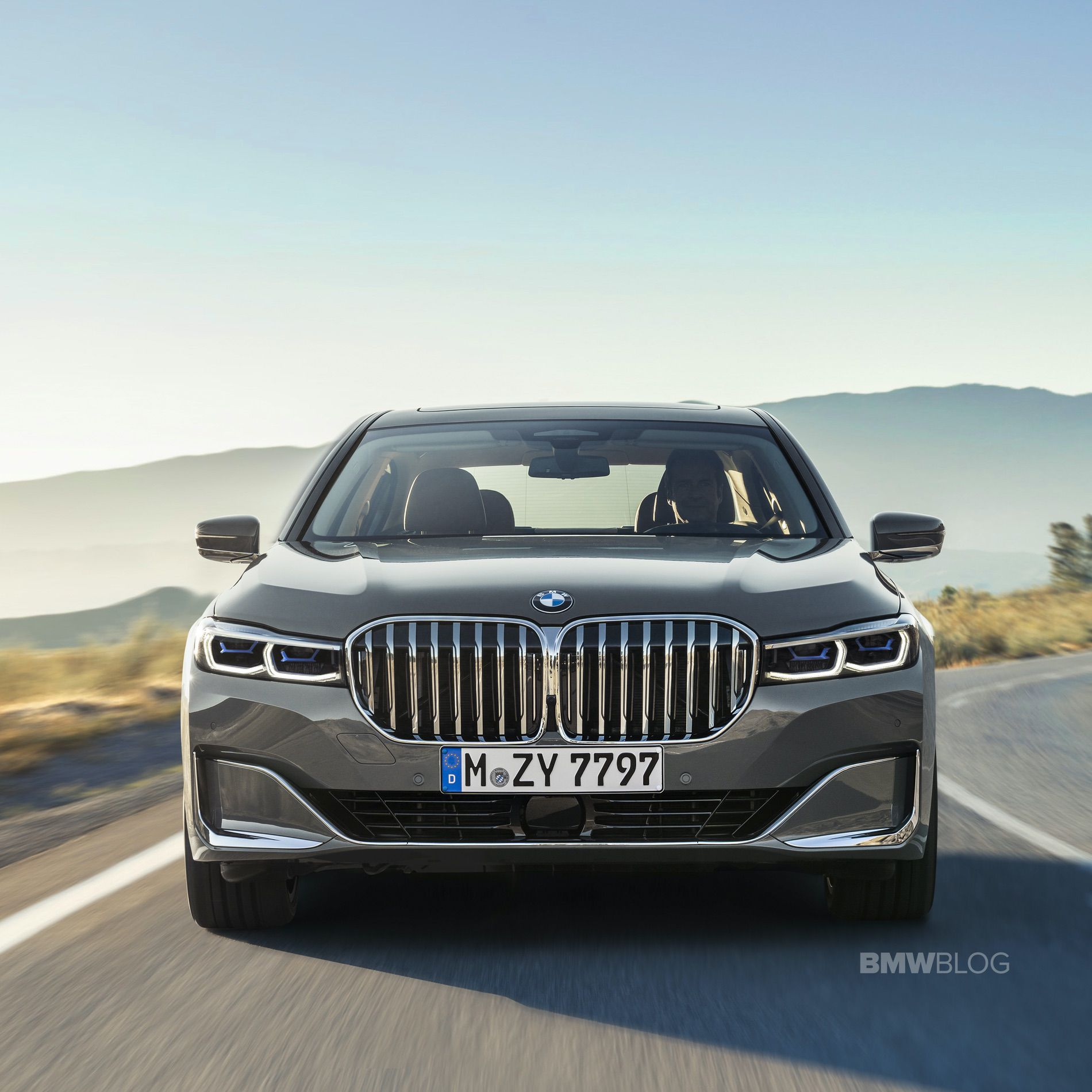 World Premiere Bmw 7 Series Lci Grille Master