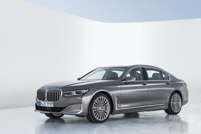 2019 BMW 7 Series Facelift exterior 35 830x553