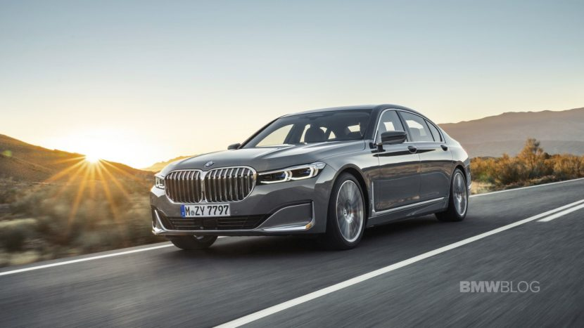 2019 BMW 7 Series Facelift exterior 37 830x467