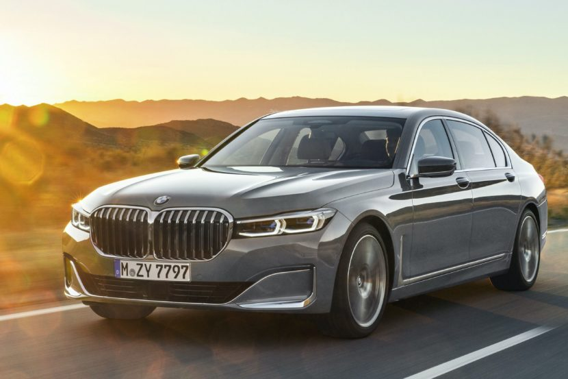2019 BMW 7 Series Facelift exterior 41 830x553