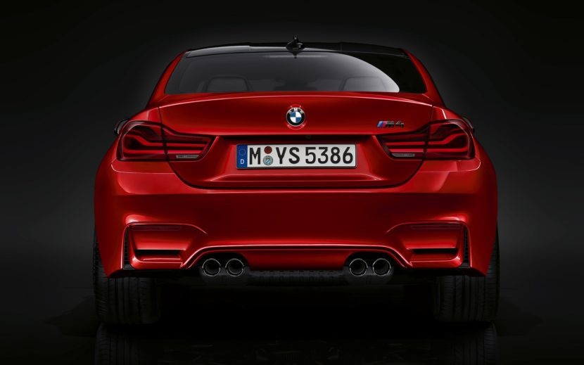 2019 BMW M4 Facelift abgedunkelte Rueckleuchten dark tail lights 05 830x519
