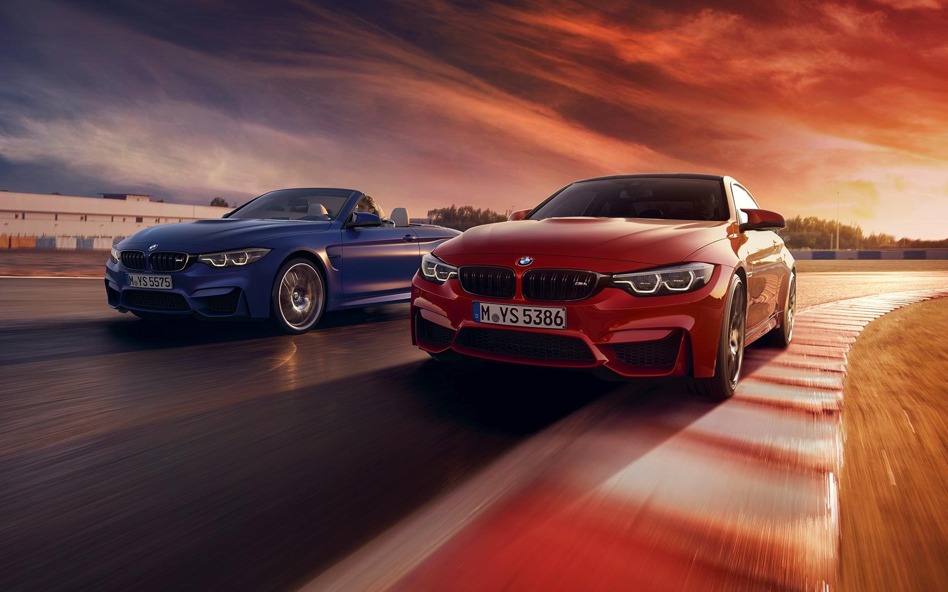 2019 BMW M4 Facelift abgedunkelte Rueckleuchten dark tail lights 11