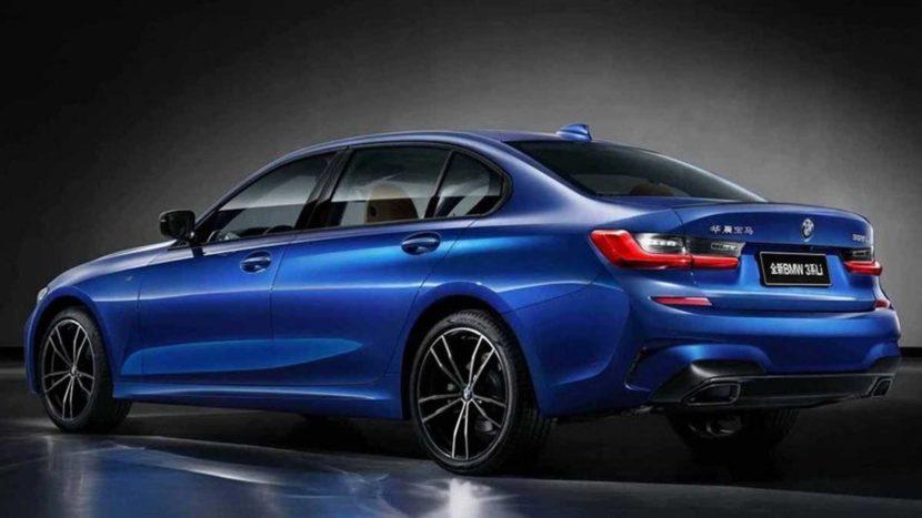 BMW Serie 3 passo lungo