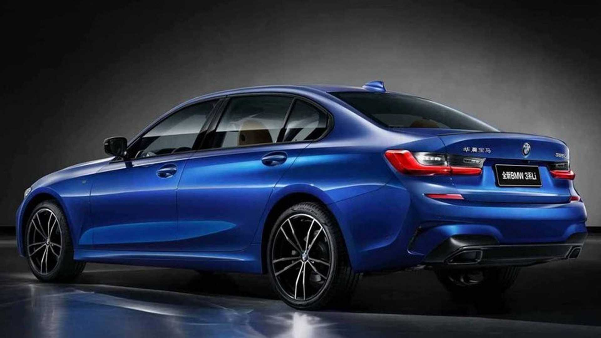 Long Wheelbase 2019 BMW 3 Series Unveiled for the Chinese ...