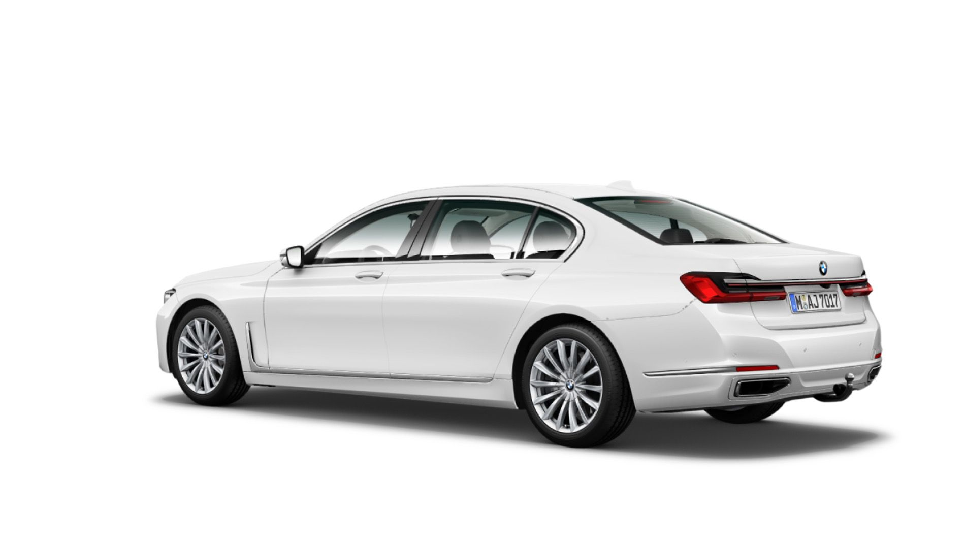The Bmw 7 Series Facelift Front Rear Side Views