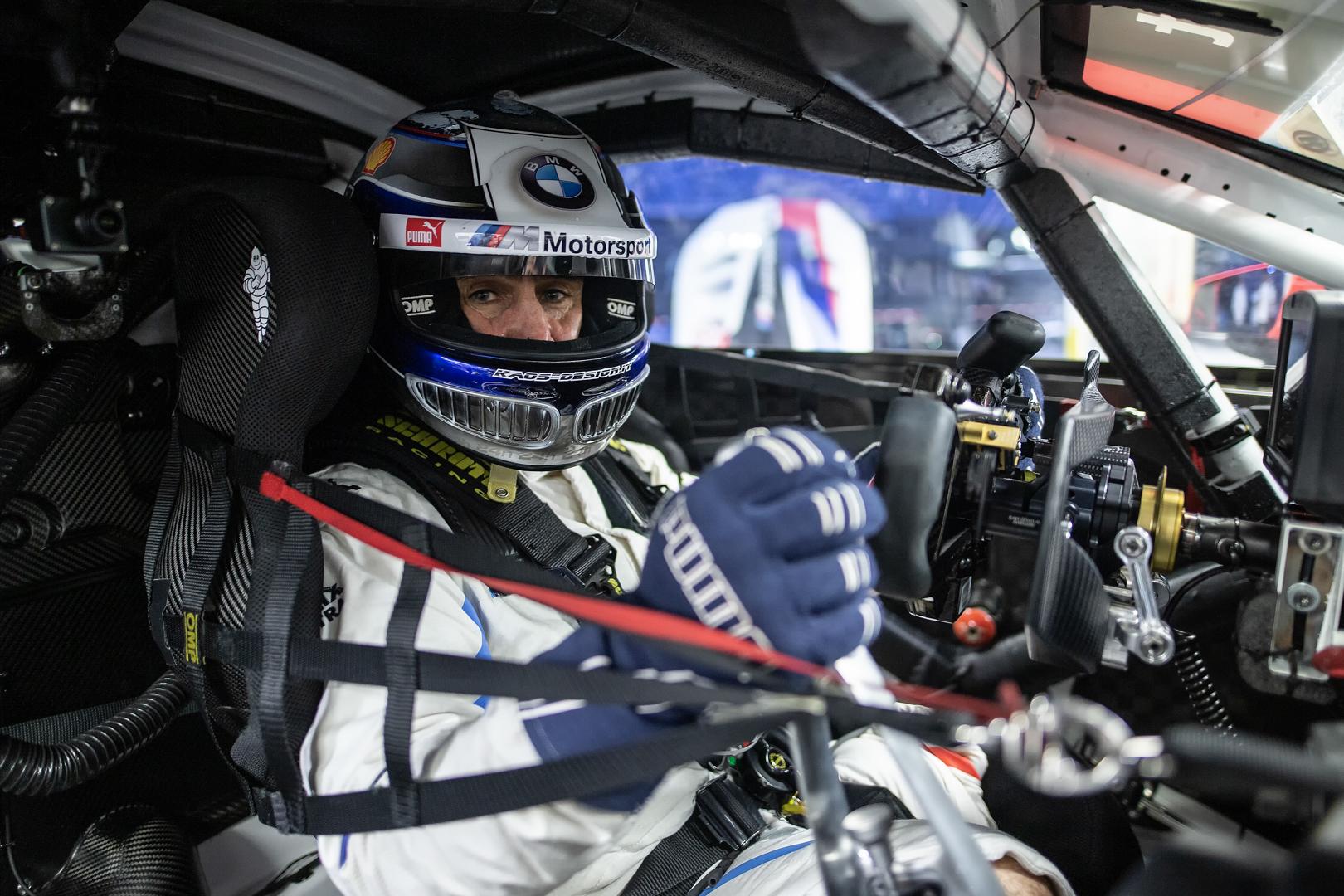 Alex Zanardi BMW M8 GTE 2