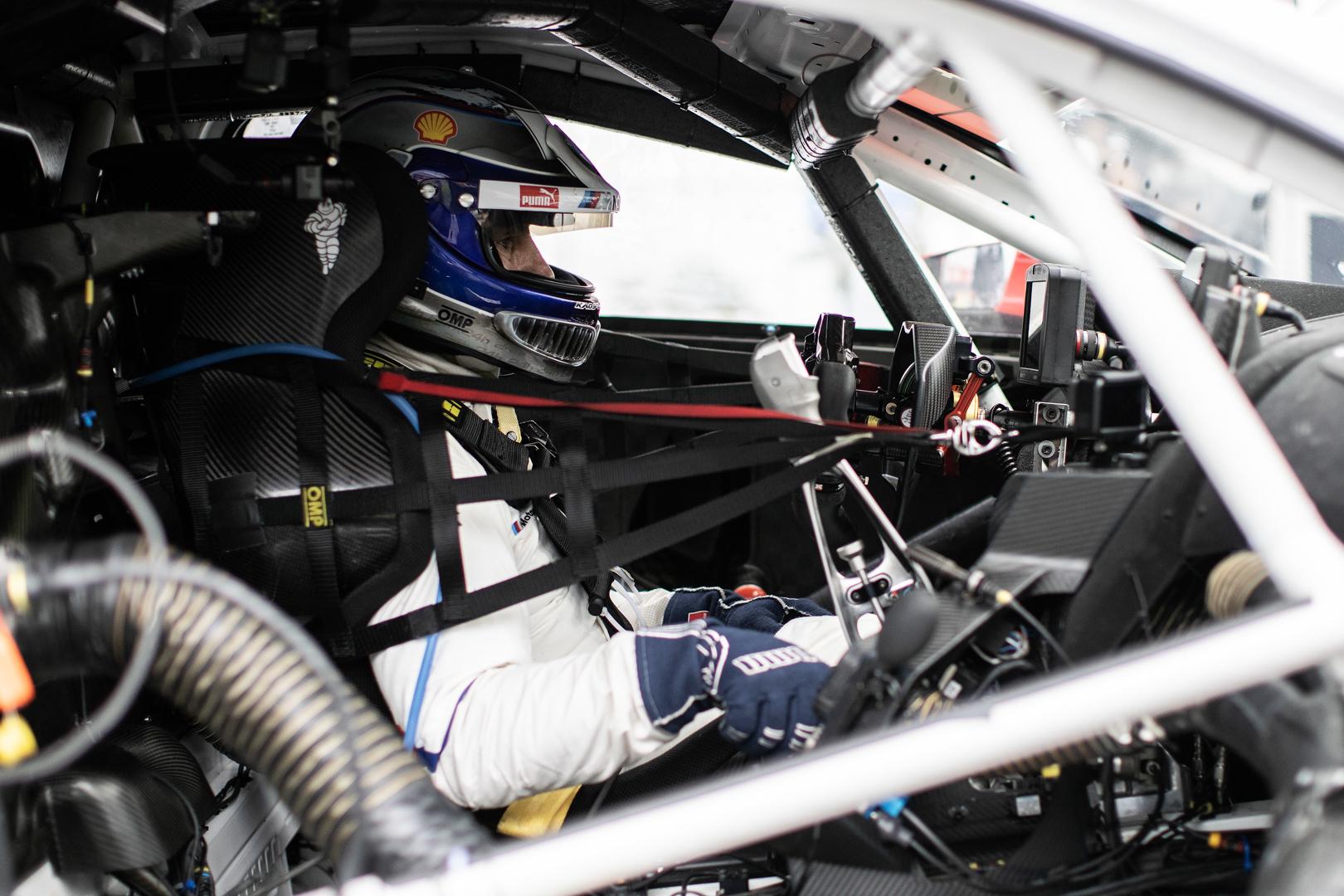 The partnership between BMW Motorsport and Alex Zanardi is incredible