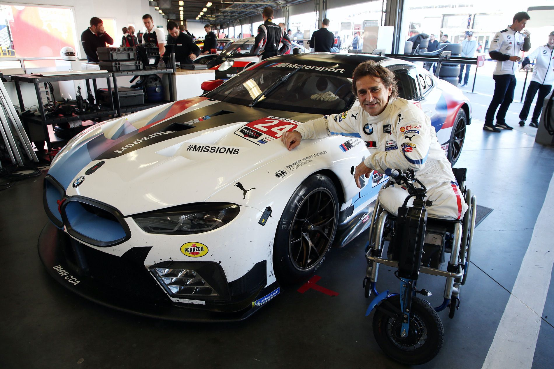 Alex Zanardi Daytona 05