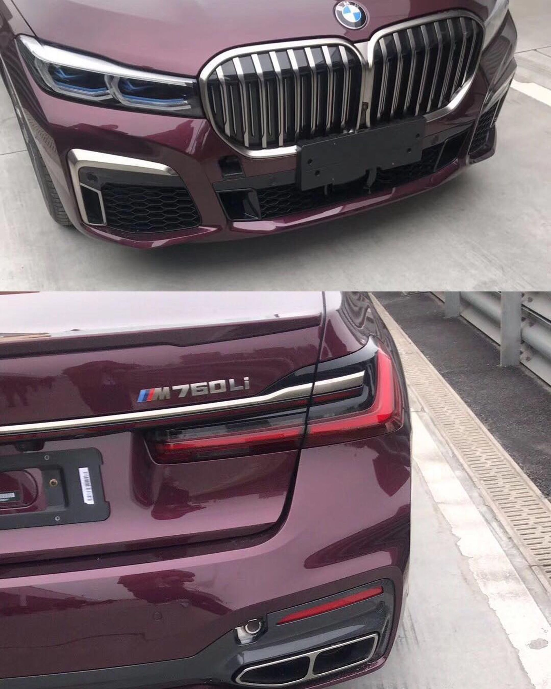 BMW 7 Series Facelift LCI 01