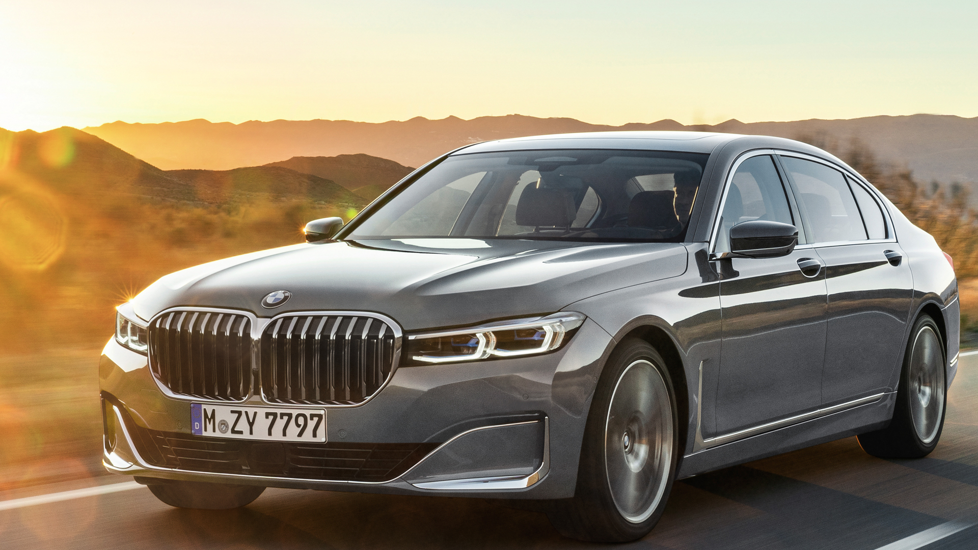 Photo Comparison Before And After Bmw 7 Series Lci