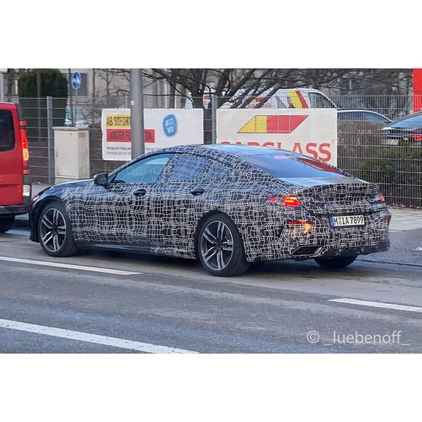 BMW 8 Series Gran Coupe spied 1 830x830