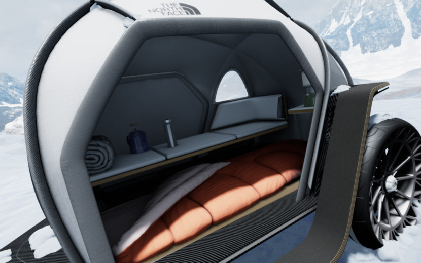 BMW Designworks North Face FUTURELIGHT Camper Concept CES 2 830x519