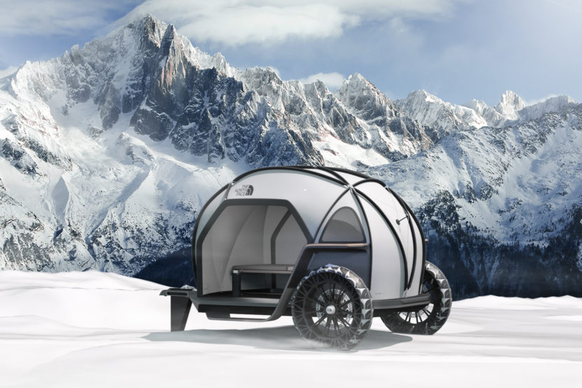 BMW Designworks North Face FUTURELIGHT Camper Concept CES 3 830x553