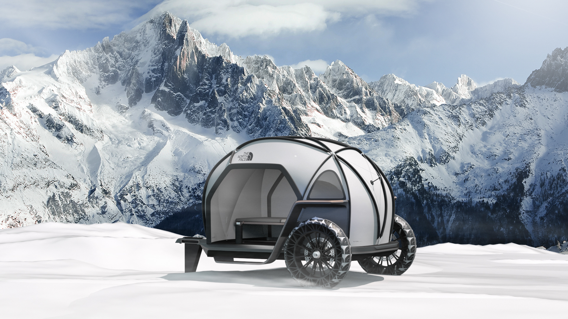 BMW Designworks North Face FUTURELIGHT Camper Concept CES 3