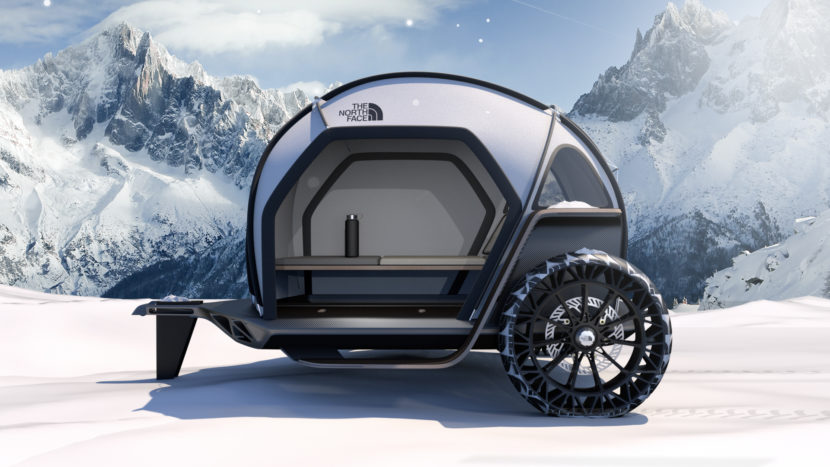 BMW Designworks North Face FUTURELIGHT Camper Concept CES 4 830x467