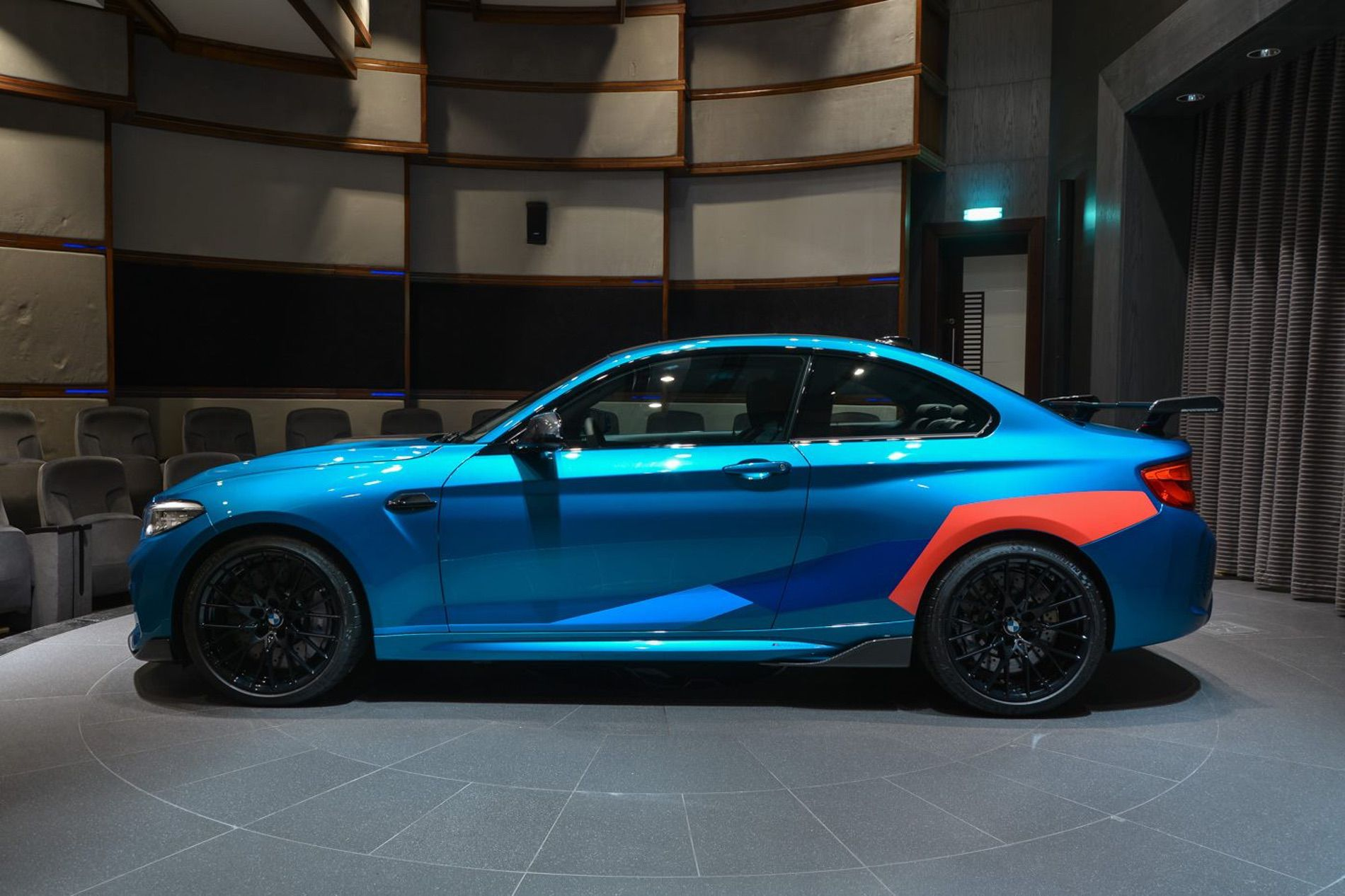 bmw m2 competition gets fully decked out in abu dhabi