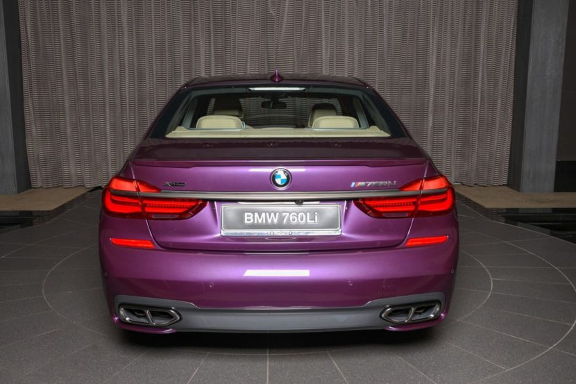 BMW M760Li In Individual Purple 03 830x553