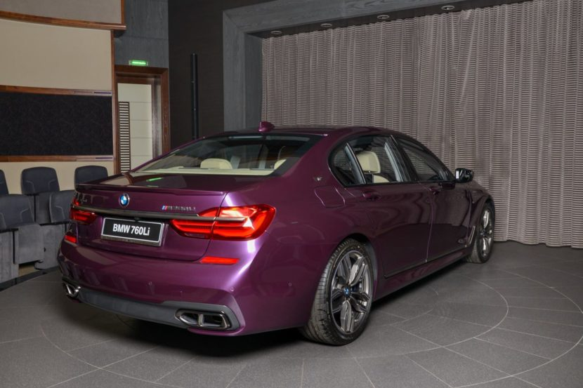 BMW M760Li In Individual Purple 07 830x553