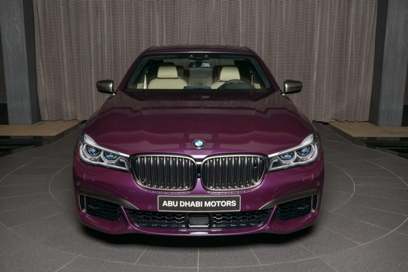 BMW M760Li In Individual Purple 15 830x553