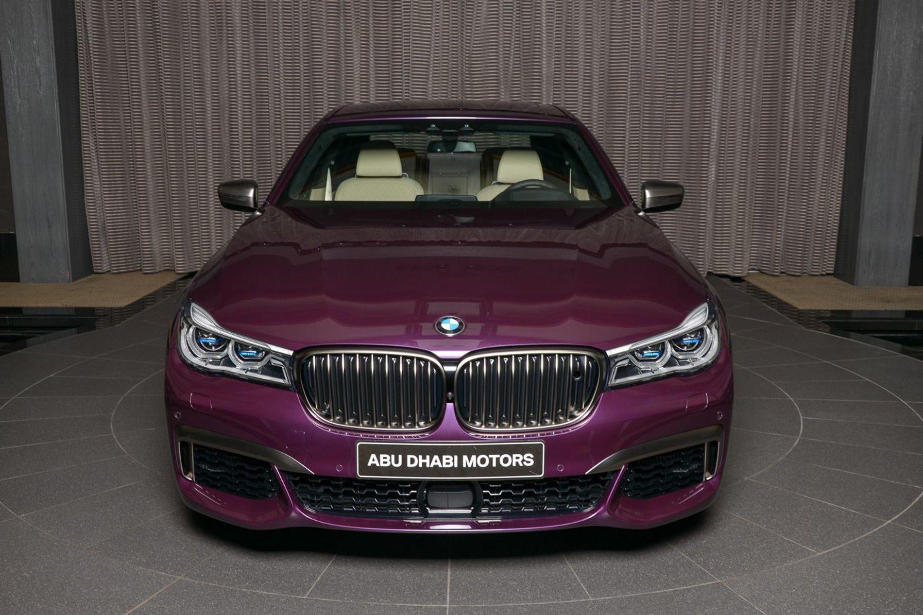 BMW M760Li In Individual Purple 15