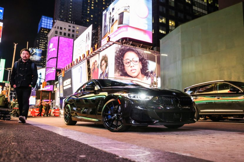 BMW M850i New York City 44 830x553