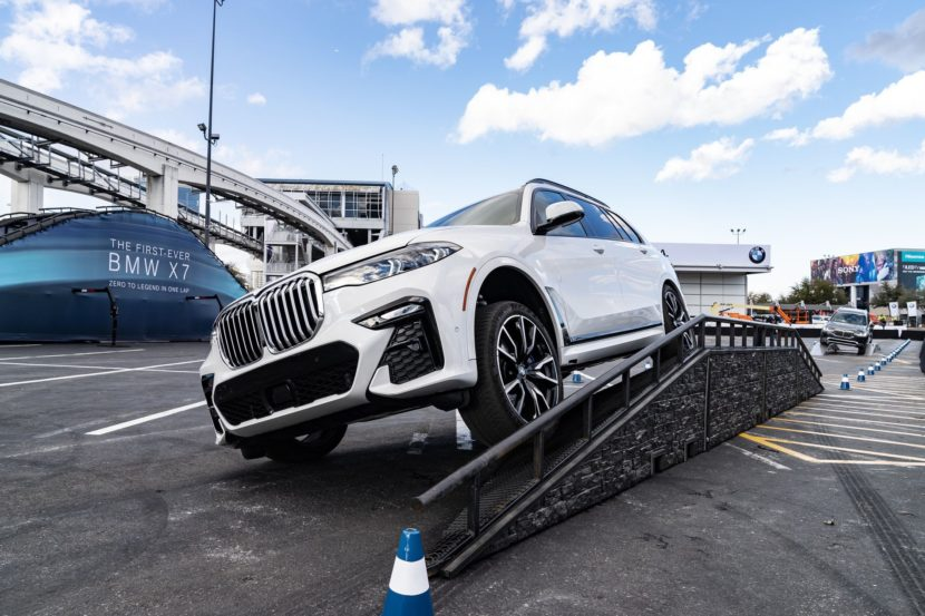BMW X7 off road CES 2019 06 830x553