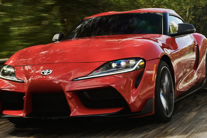Photo Comparison Bmw Z4 M40i Vs Toyota Supra
