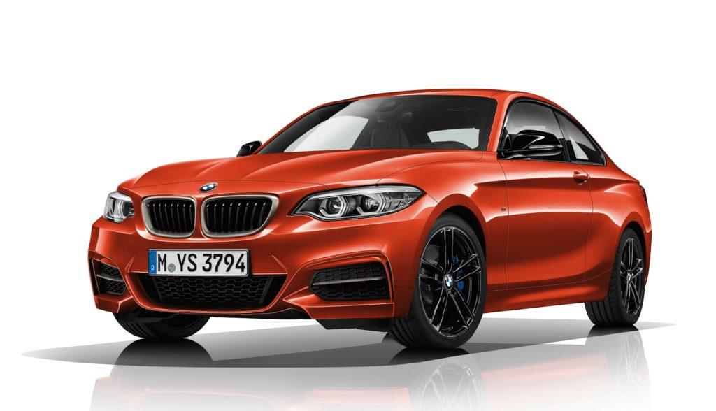 BMW 2 Series Range, Including M2, Gets Darker for 2019