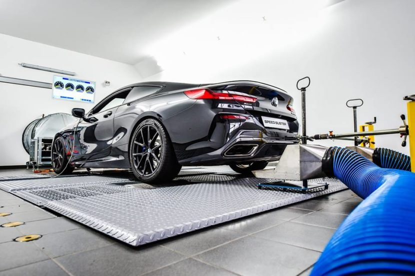 Speed Buster BMW M850i 830x553