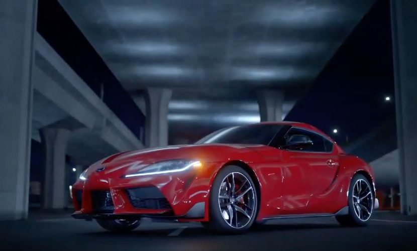 This wild Toyota Supra will race in Super GT
