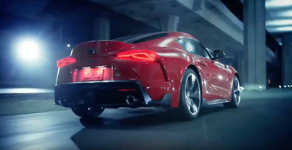 Toyota Supra accidentally unveiled in official tweet