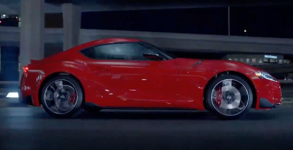 Toyota Supra completely revealed in video leak