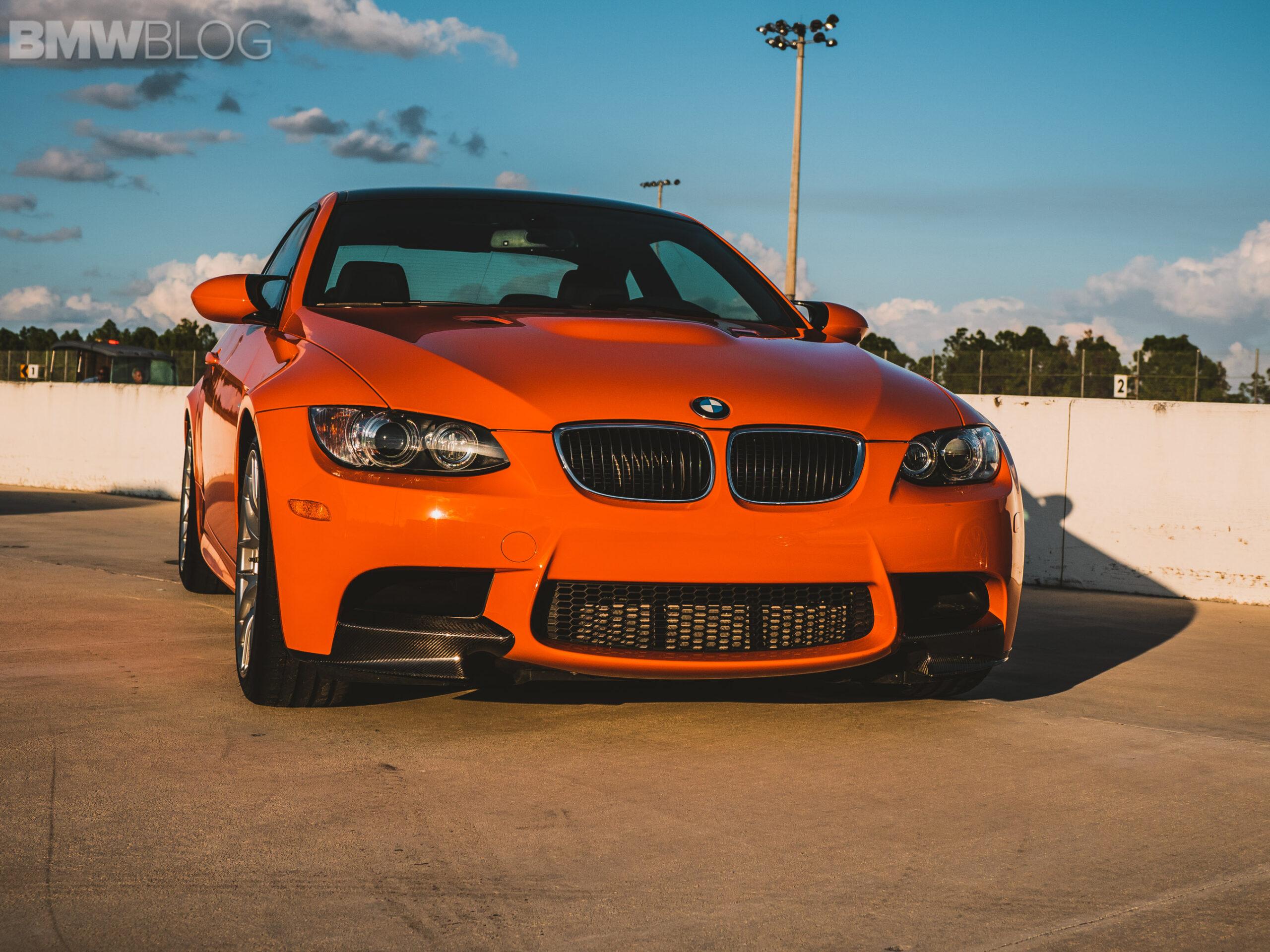 bmw m3 e92 fire orange 3 scaled