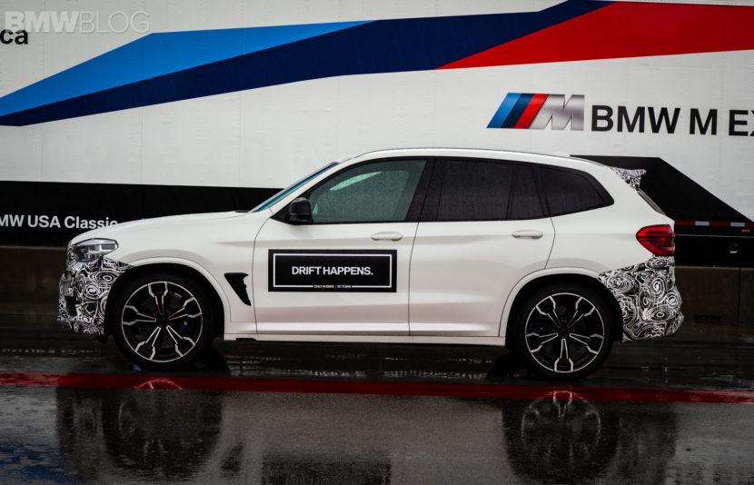 2019 BMW X3 M live images 3 830x534