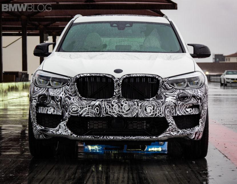 2019 BMW X3 M live images 5 830x643