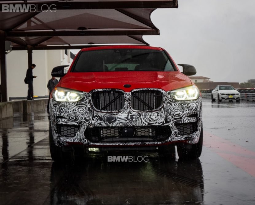 2019 BMW X4M live photos 01 830x668