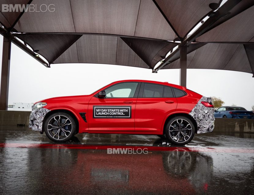 2019 BMW X4M live photos 03 830x637