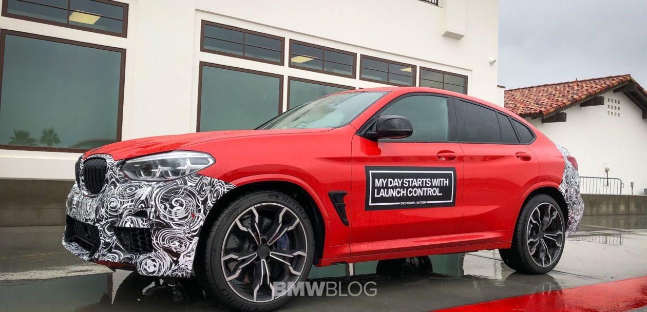 2019 BMW X4M live photos 09 1260x608