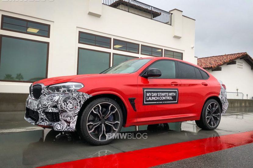 2019 BMW X4M live photos 09 830x553