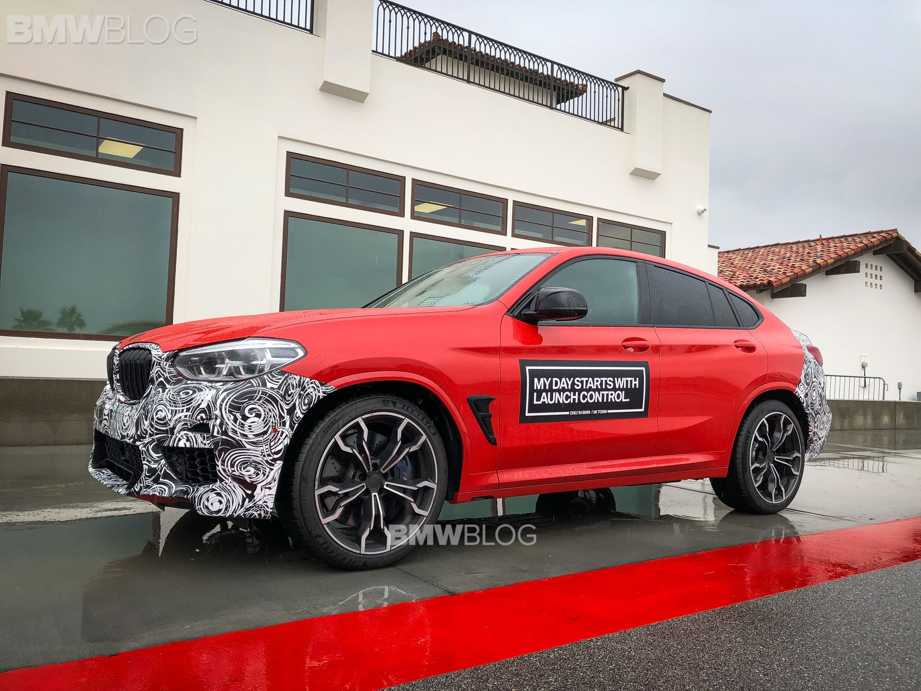 2019 BMW X4M live photos 09