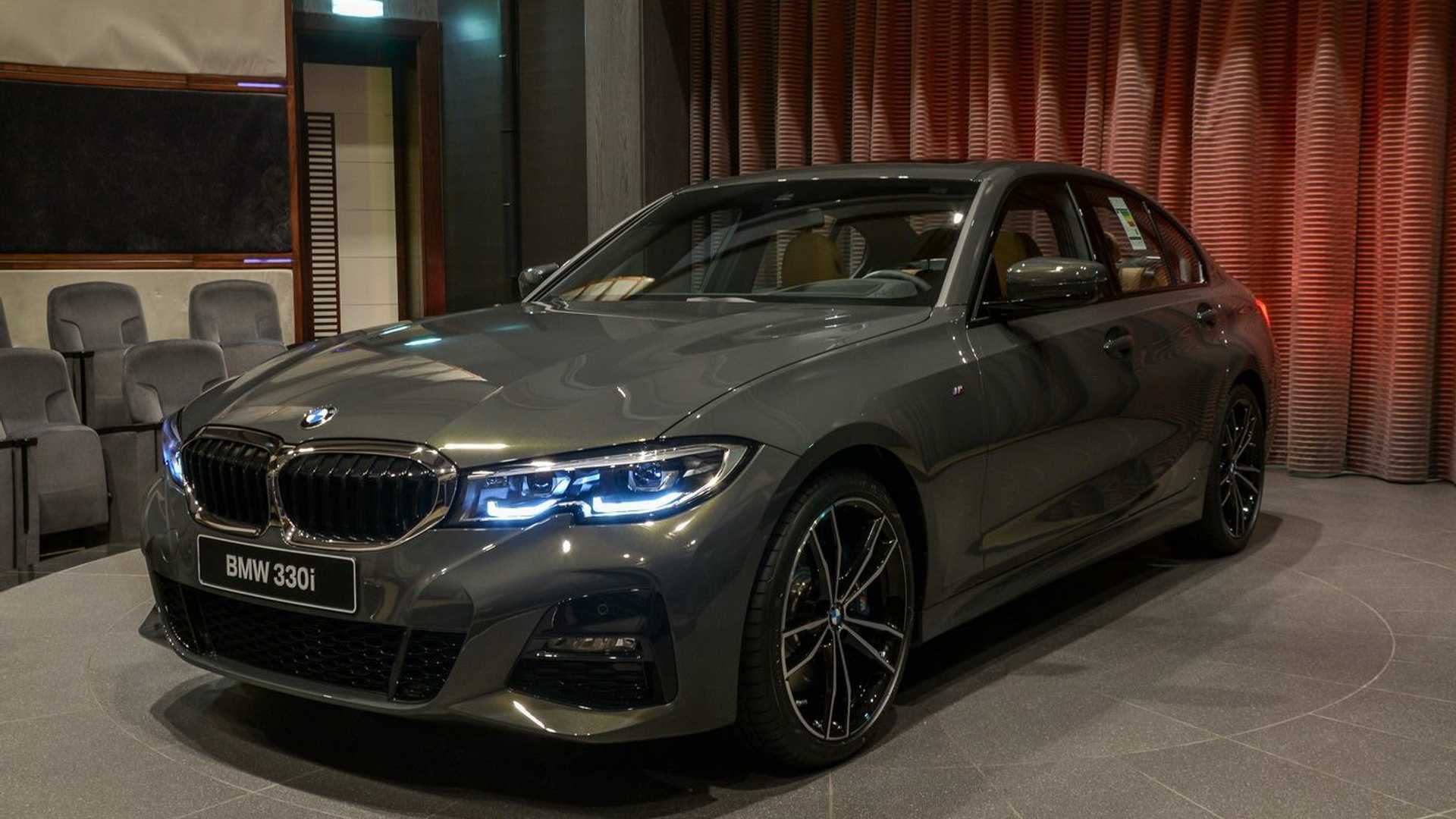 2019 Bmw 3 Series In Dravite Grey Metallic Individual Color
