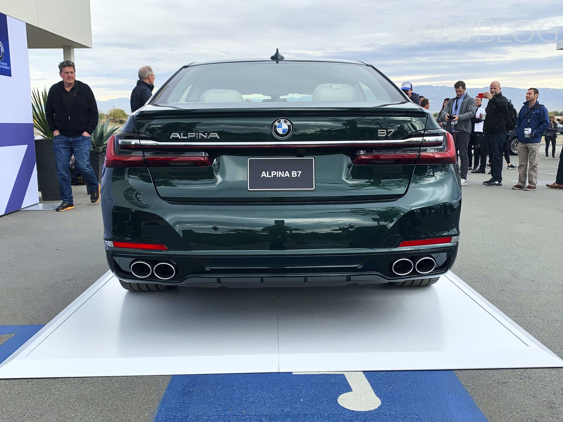 First Live Photos 2020 Alpina B7 Facelift Teslas Only