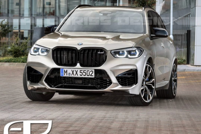New Rendering Of The 2020 Bmw X5 M