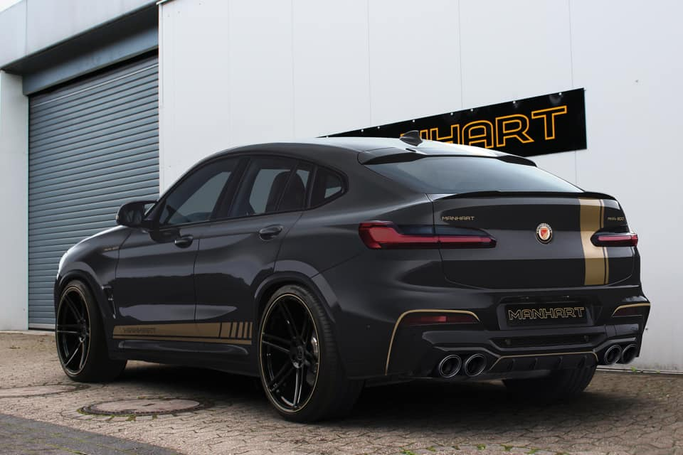 Manhart Performance Already Working on BMW X4 M Model