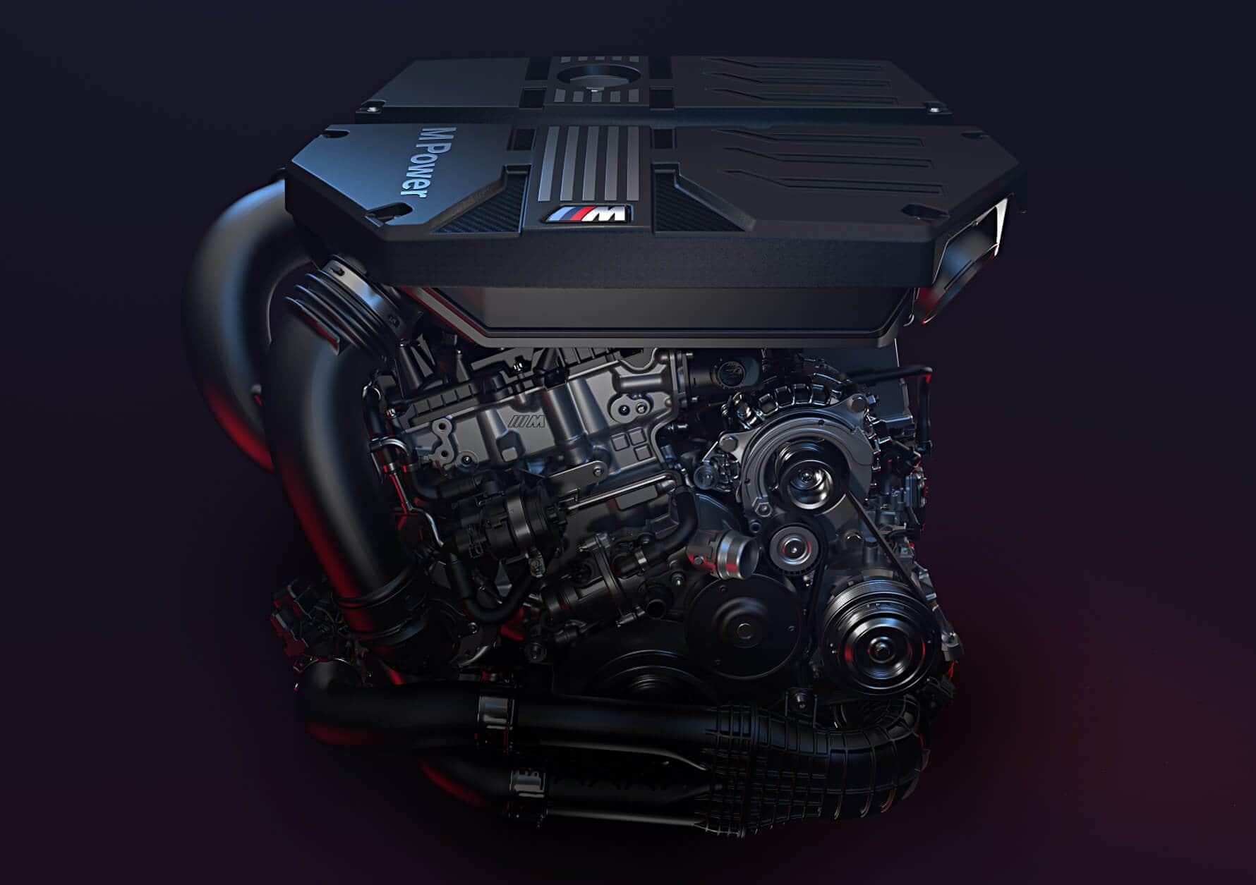 BMW Bi Turbo Engine in the first ever BMW X3 M 2000