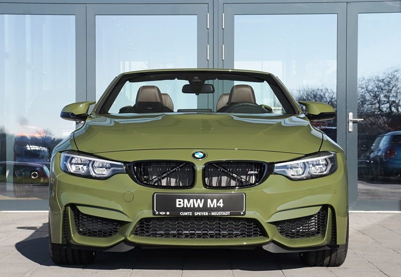 Bmw Individual M4 Competition Convertible In A Rare Urban Green
