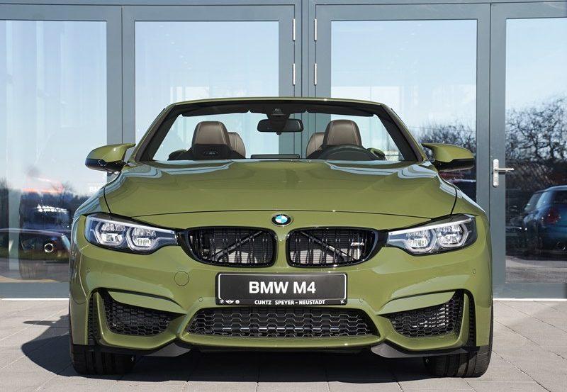 BMW M4 Cabrio F83 Individual Urban Green 01 800x553