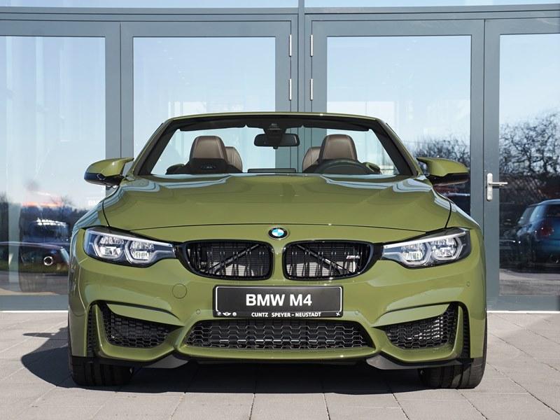 BMW M4 Cabrio F83 Individual Urban Green 01