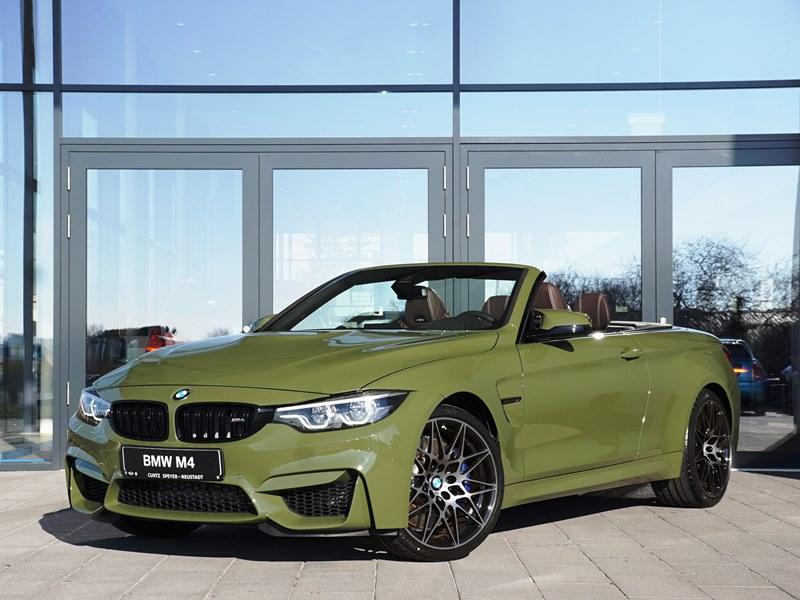 BMW M4 Cabrio F83 Individual Urban Green 02