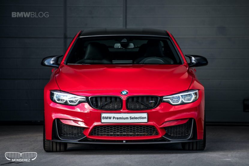 BMW M4 Ferrari Red 02 830x553